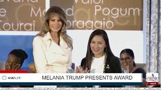 Download LIVE Stream: Melania Trump Presents International Women of Courage Award Video