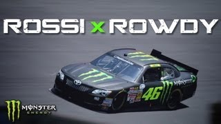 Download Valentino Rossi Carjacks Kyle Busch's NASCAR Ride! Video