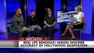 Download See the Heroes of Benghazi Open Up About the New '13 Hours' Film Video