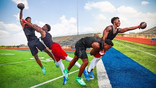 Download I ALMOST FOUGHT THIS TRASH TALKING HIGH SCHOOLER.. (DB vs WR 1ON1'S AGAINST 4-STAR) Video