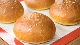 Download Burger Buns Recipe | Best Eggless Hamburger Buns | Super Soft Bakery Style Breads Video