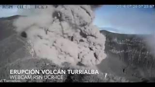 Download Volcán Turrialba erupciones 25 julio 2016 Video