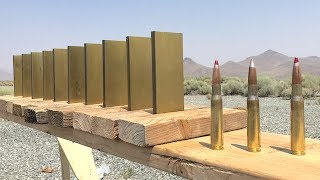 Download How much Gold does it take to stop a 50cal? Video