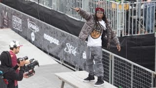 Download Lil Wayne - A Milli [Live at Dew Tour 2012] Video