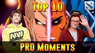 Download Top 10 PRO Moments Dota 2 Video