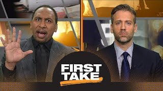 Download Stephen A. and Max debate Steelers' no-catch against Patriots   First Take   ESPN Video