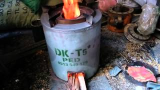 Download Vận hành bếp DK-T5 - PED (How to start woody clean cookstove) Video