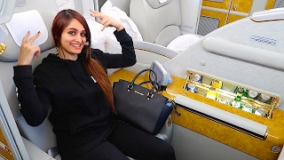Download THE $21,000 FIRST CLASS AIRPLANE SEAT !!! Video