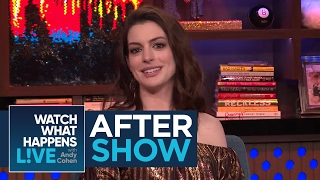 Download After Show: Who Is Anne Hathaway's Favorite Cast Member From Oceans 8? | WWHL Video