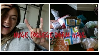 Download The ULTIMATE College Dorm Room HAUL!!! Video