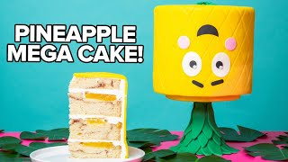 Download My Twist On Pineapple Upside Down Cake | How To Cake It Video
