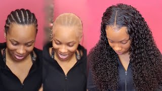 Download LONG Middle Part Frontal | Start to Finish | UPretty Hair Video