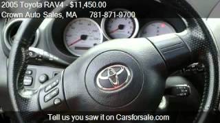Download 2005 Toyota RAV4 4WD - for sale in Abington, MA 02351 Video
