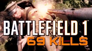 Download Battlefield 1: 69 Kills in the Forest (PS4 Pro Multiplayer Gameplay) Video