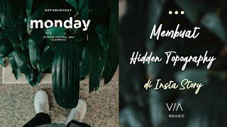 Download Tutorial Insta story Kekinian dengan Hidden Tipografi seperti @waands & @madariyanhadi Video