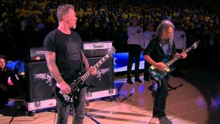 Download Metallica Performs National Anthem Before Finals Game 5 Video