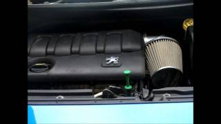 Download Peugeot 207 1.4 90 BHP Pipercross Induction kit before and after fitment Video