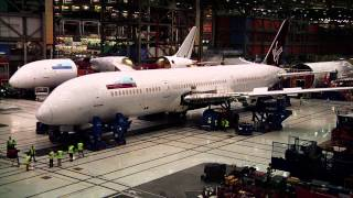Download Watch Virgin Atlantic's first 787-9 put together quickly Video