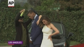 Download Miranda Kerr dabs with with Cam Newton Video