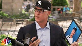 Download Aaron Judge Asks Yankees Fans About Aaron Judge Video