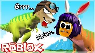 Download ROBLOX - Nos quieren comer!!! -Dinosaur Simulator - C/troyanonano Video
