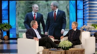 Download President George W. Bush's Thoughts on Putin and the Press Video