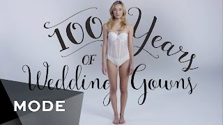 Download 100 Years of Fashion: Wedding Dresses ★ Mode Video