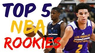 Download Top 5 NBA Rookies - Is Lonzo Ball the best? Video