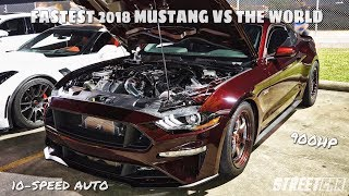 Download 2018 TWIN TURBO MUSTANG takes on 900hp ZR1, TT Camaro, YSI C6 & 850hp Paxton 5.0 on THE STREET!!! Video