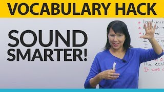 Download Vocabulary Hack: Sound smarter and avoid mistakes Video