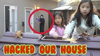 Download Game Master Hacks Our HOUSE While We Play Power Wheels Ride On Car Video