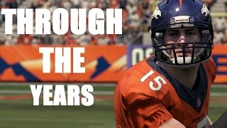 Download TIM TEBOW THROUGH THE YEARS - NCAA FOOTBALL 2007 - MADDEN 16 Video