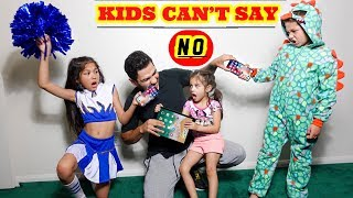 Download KIDS CAN'T SAY NO TO PARENTS FOR A DAY | Familia Diamond Video