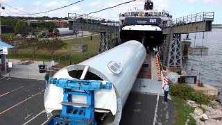 Download Wind Tower Section Boarding S.S. Badger, September 25, 2012 Video
