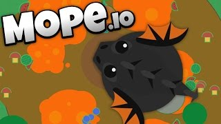 Download Mope.io - Lava Biome and Colossal Black Dragon Update! - Let's Play Mope.io Gameplay Video