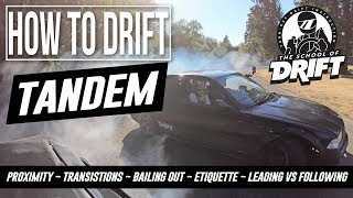 Download HOW TO DRIFT - TANDEM LIKE A PRO Video