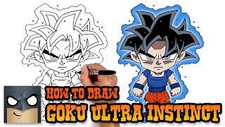 Download How to Draw Goku | Ultra Instinct Form (Art Tutorial) Video