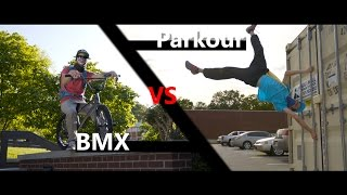 Download Parkour vs BMX Race! | in 4K! | with Beyond Boundaries Video