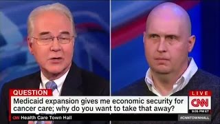 Download Watch Tom Price lie to a cancer survivors face Video