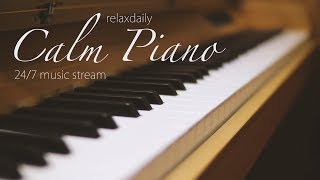 Download Calm Piano Music 24/7: study music, focus, think, meditation, relaxing music Video