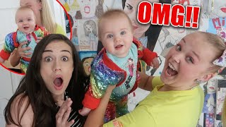 Download BABYSITTING COLLEEN'S BABY FLYNN!! *7 Months old* Video