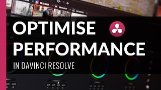 Download Optimise Playback Performance | Davinci Resolve Tutorial Video