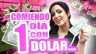 Download Comiendo 1 Día con SOLO 1 Dolar! Reto 24 Horas Pasando Hambre en USA - SandraCiresArt Video