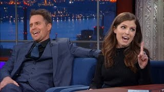 Download Anna Kendrick and Sam Rockwell Had To Make Out Vigorously Video