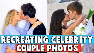 Download RECREATING CELEBRITY COUPLE PHOTOS w/ Jennxpenn Video