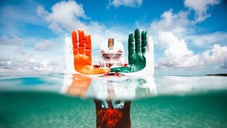 Download Miami football team to wear recycled uniforms Video