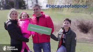 Download #becauseofadonor – Sophia Video