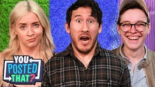 Download Markiplier, Steven Suptic, and Lily Marston | You Posted That? Video