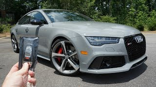 Download 2017 Audi RS7: Start Up, Exhaust, Test Drive and Review Video