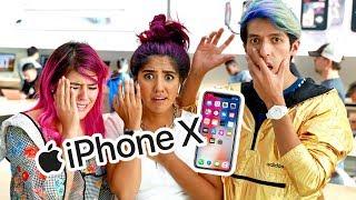 Download NOS ARREBATARON EL ÚLTIMO IPHONE X | LOS POLINESIOS VLOG Video